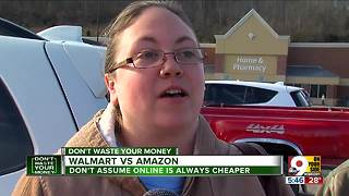 Walmart or Amazon: Which has lower prices? - Video