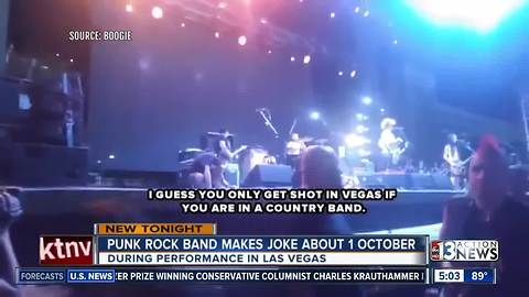 UPDATE: NOFX band member says group banned from U.S. due to 1 Oct. joke