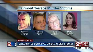 5th anniversary of south Tulsa quadruple murder - Video