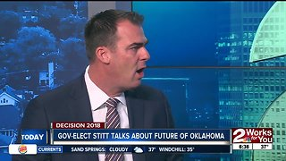 Governor-Elect Kevin Stitt talks about future of Oklahoma