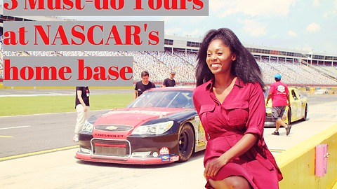 Woman takes amazing tour at NASCAR home base