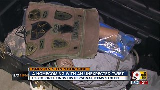 Soldier's keepsakes stolen from mother's home