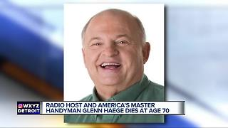 Glenn Haege dies at age 70 - Video