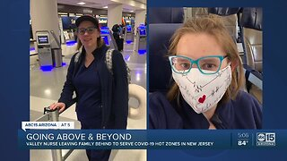 Valley nurse working with COVID patients in New Jersey