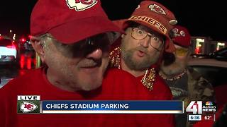 Chiefs fans ready for home opener - Video