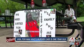 Kansas City family remembers murder victim one year later