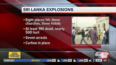 Sri Lanka attacks: More than 200 dead in bombings, including 'several' Americans