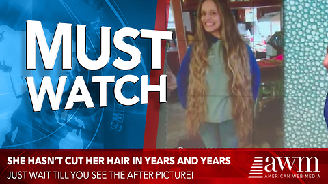 She Finally Agrees To A Haircut After Years Of Neglect. When She Walks Out, The Crowd Erupts