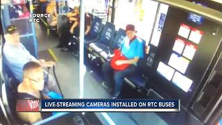 Livestreaming cameras installed on RTC buses - Video