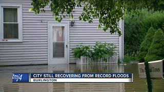 Looking back: One year since Burlington flash flood - Video