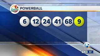 Powerball numbers are in - Video