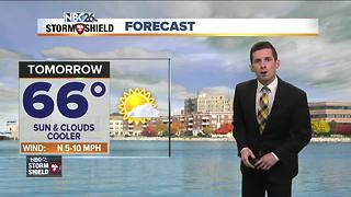 Cooler weather ahead for the work week - Video