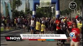 Palm Beach Heart Walk in West Palm Beach - Video