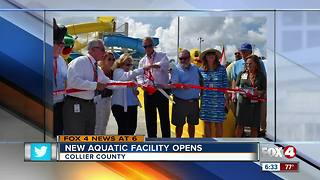 New Naples aquatic center offers free admission through July - Video