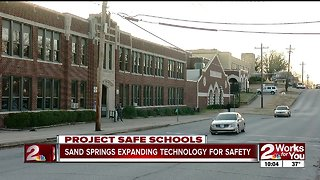 Sand Springs expanding technology for safety - Video