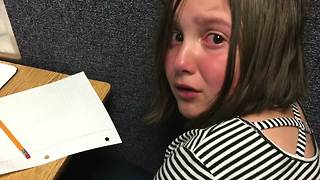 Parents pull child from school after claiming daughter, 8, confined to 'cell-like' room - Video