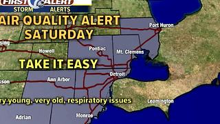 Hot and humid weekend - Video
