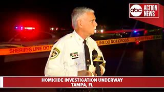 Hillsborough County detectives investigating homicide