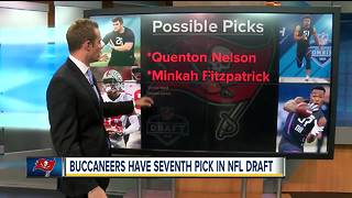 Tampa Bay Buccaneers seek more help for quarterback Jameis Winston at 2018 NFL draft - Video
