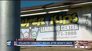 Stillwater community reeling after infant dies
