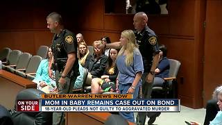 Brooke Skylar Richardson pleads not guilty to aggravated murder in death of her newborn - Video