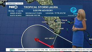 Tropical Storm Laura Update