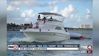 Coast Guard stops illegal charter boat 'Sea You Twerk'