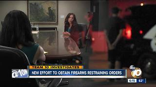 New effort to obtain firearms restraining orders in San Diego