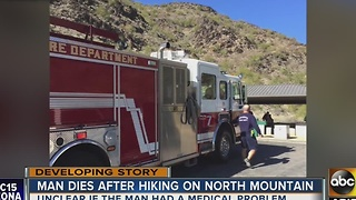 Man dies while hiking Phoenix mountain - Video