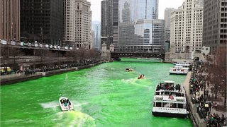 How Does The Chicago River Turn Green Every St. Patrick's Day? - Video