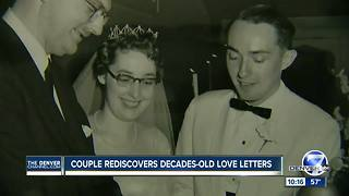 Boulder couple rediscovers decades-old love letters - Video