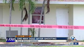 Man shot and killed in Palm Beach Gardens