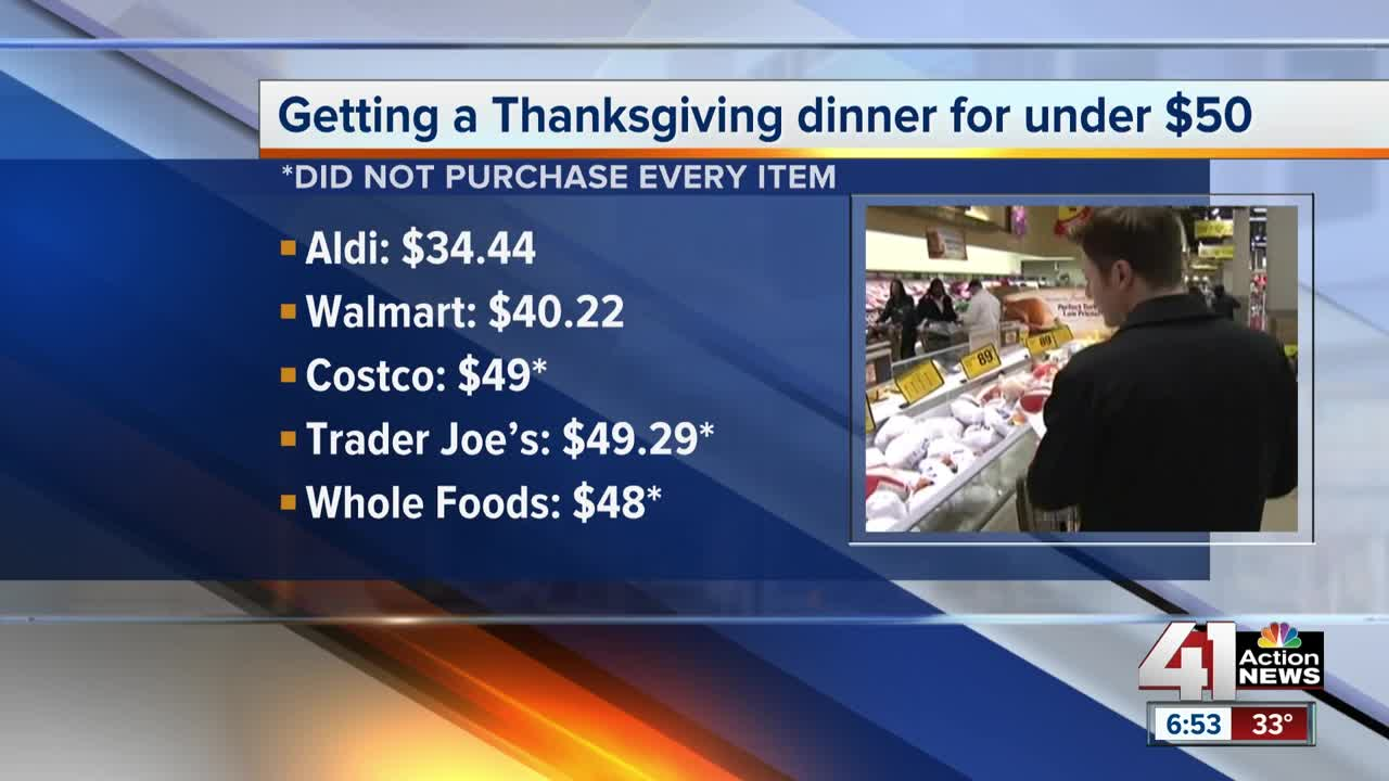 Saving money on a Thanksgiving meal