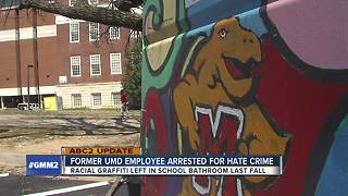 Former UMD employee arrested for
