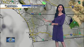 10News Pinpoint Weather for Tues. March 13, 2018 - Video