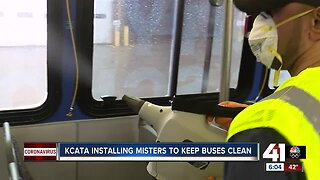 KCATA using misters to keep buses clean