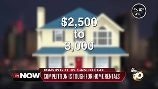 Making It in San Diego: Credit competition for rentals - Video