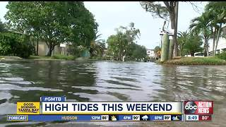 Seasonal high tides and Nate combine to cause area coastal flooding - Video