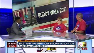 Buddy Walk to benefit Down Syndrome association - Video