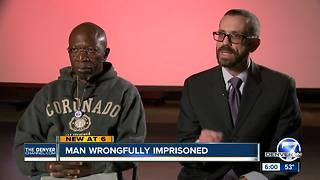 Clarence Moses-El suing Denver, former DA and others for wrong imprisonment - Video