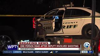 Deputy-involved shooting - Video