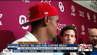 Jalen Hurts trying to 'be like the coffee bean'