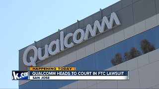 Lawsuit against Qualcomm heads to court