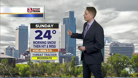 Mark's Sunday Forecast