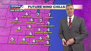 Subzero wind chills Wednesday - Video