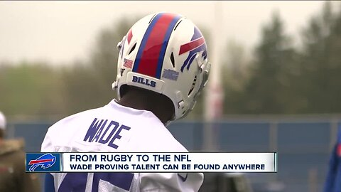 Christian Wade follows unique path to the NFL