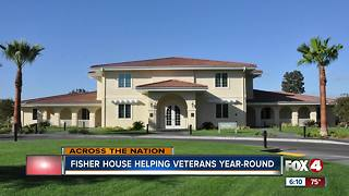 Fisher House helping veterans year-round
