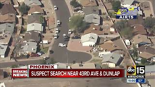 Officer reportedly injured in west Phoenix shooting