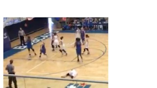 High School Basketball Player Suspended for Knockdown of Opponent, Causing Concussion - Video