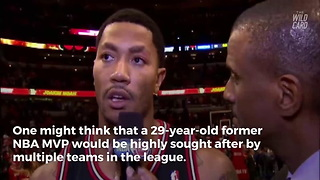 Former MVP Derrick Rose Signs With New Team - Video